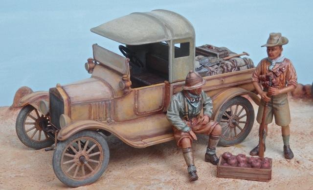 Deux FORD T de l' ANZAC en Egypte 1917 Pc100011