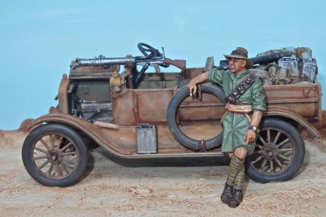 Deux FORD T de l' ANZAC en Egypte 1917 Pc100012