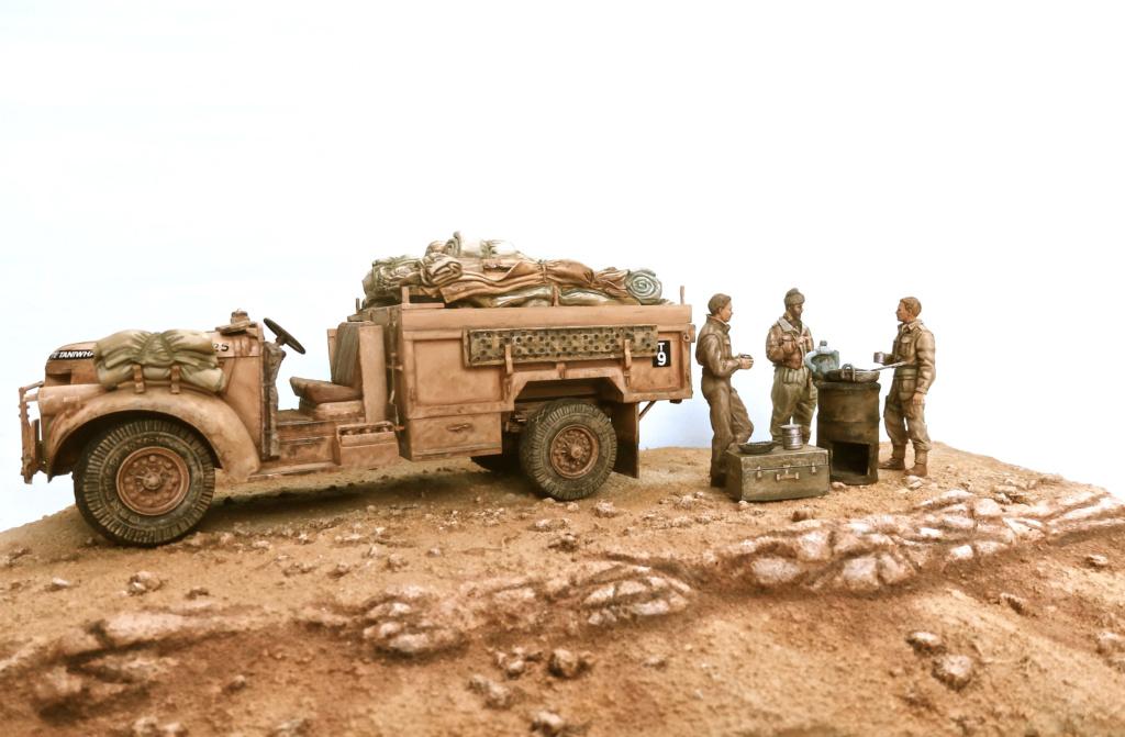 Lunch time Long Range Desert Group Désert libyque 1942 Pc150010