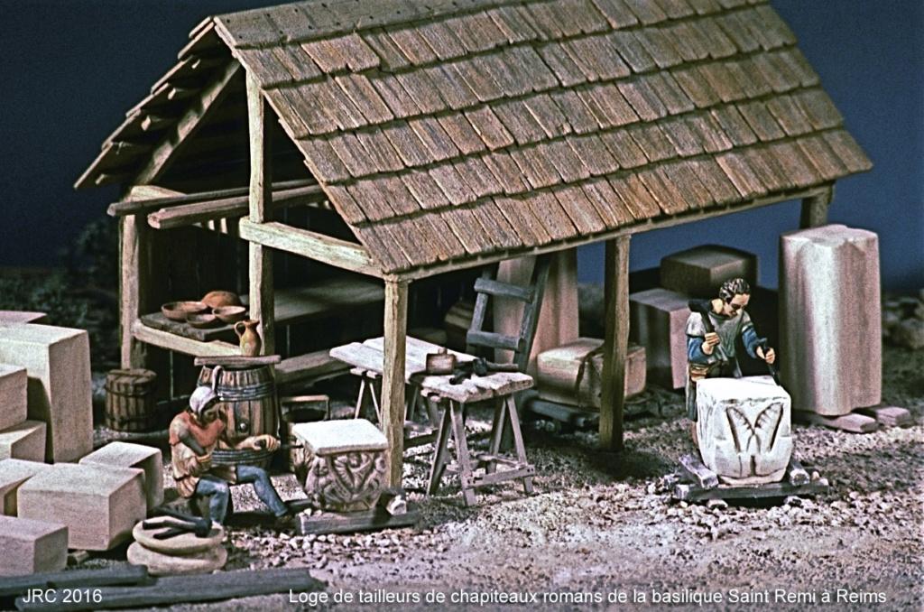 Dioramas 5 Haut Moyen-Âge et Moyen-Âge Roman210