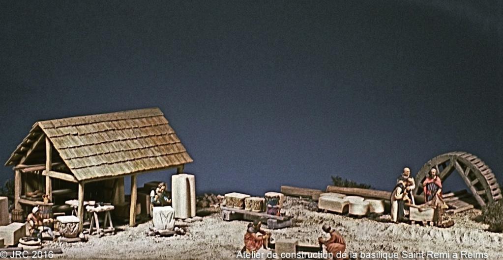 Dioramas 5 Haut Moyen-Âge et Moyen-Âge Roman410