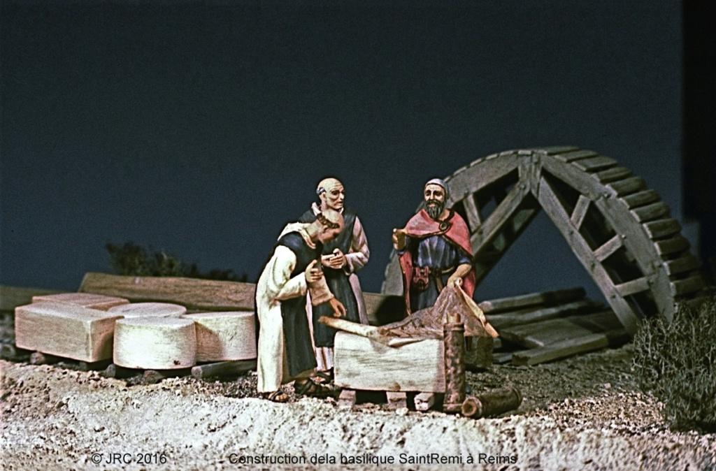 Dioramas 5 Haut Moyen-Âge et Moyen-Âge Roman710