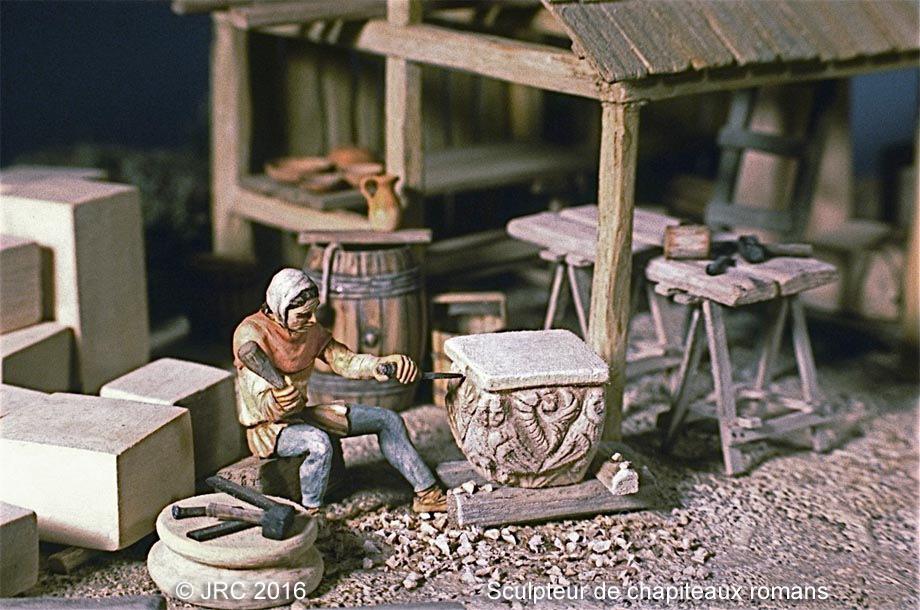 Dioramas 5 Haut Moyen-Âge et Moyen-Âge Roman_10