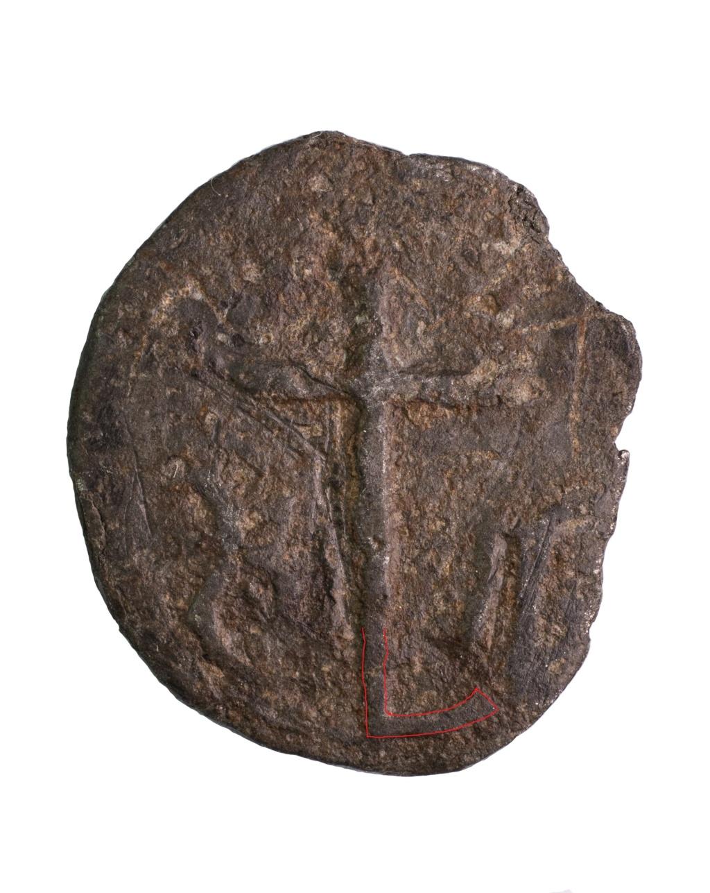Virgen con Niño / Cruz, s. XVI Dsc01d10