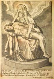 Crucifijo bifaz  Virgen Bohosudov (Mariaschein) (Checoslovaquia), S. XVIII Images10