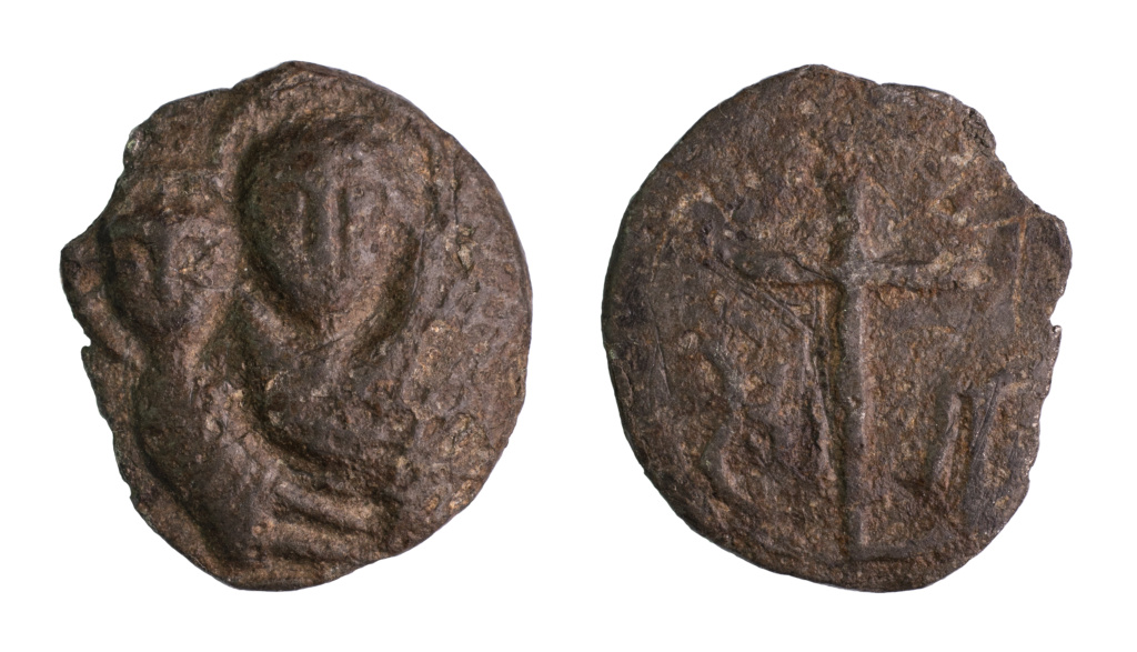 Virgen con Niño / Cruz, s. XVI Madonf10