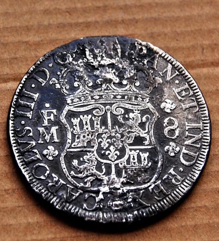 Columnario 8 Reales de Carlos III, 1770 70134d10