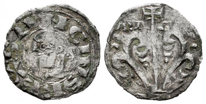 Dinero Sancho Ramírez (1063-1094). Jaca. Rey de Aragón y Pamplona.  001-1411
