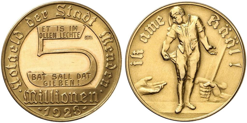 Alemania - Bielefeld - 1 Goldmark 1923 03686q10