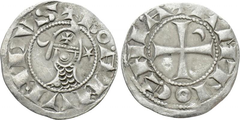 Dinero de Bohemundo III. Principado de Antioquía (1163-1201).  18120110