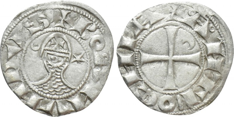 Dinero de Bohemundo III. Principado de Antioquía (1163-1201).  18120210