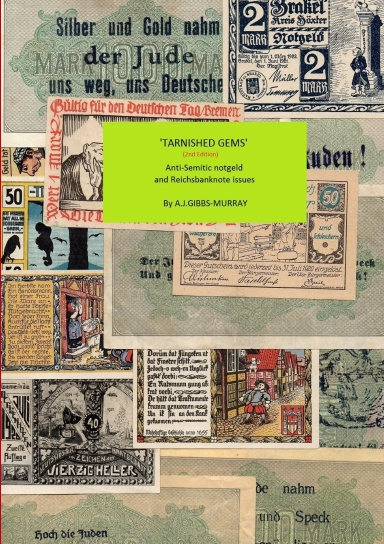 Eine Million Mark 1923 con una sobreimpresión de propaganda virulenta. 1dz8m511