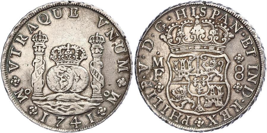 Mi segunda moneda. Otro 8 reales de 1741. 291k10