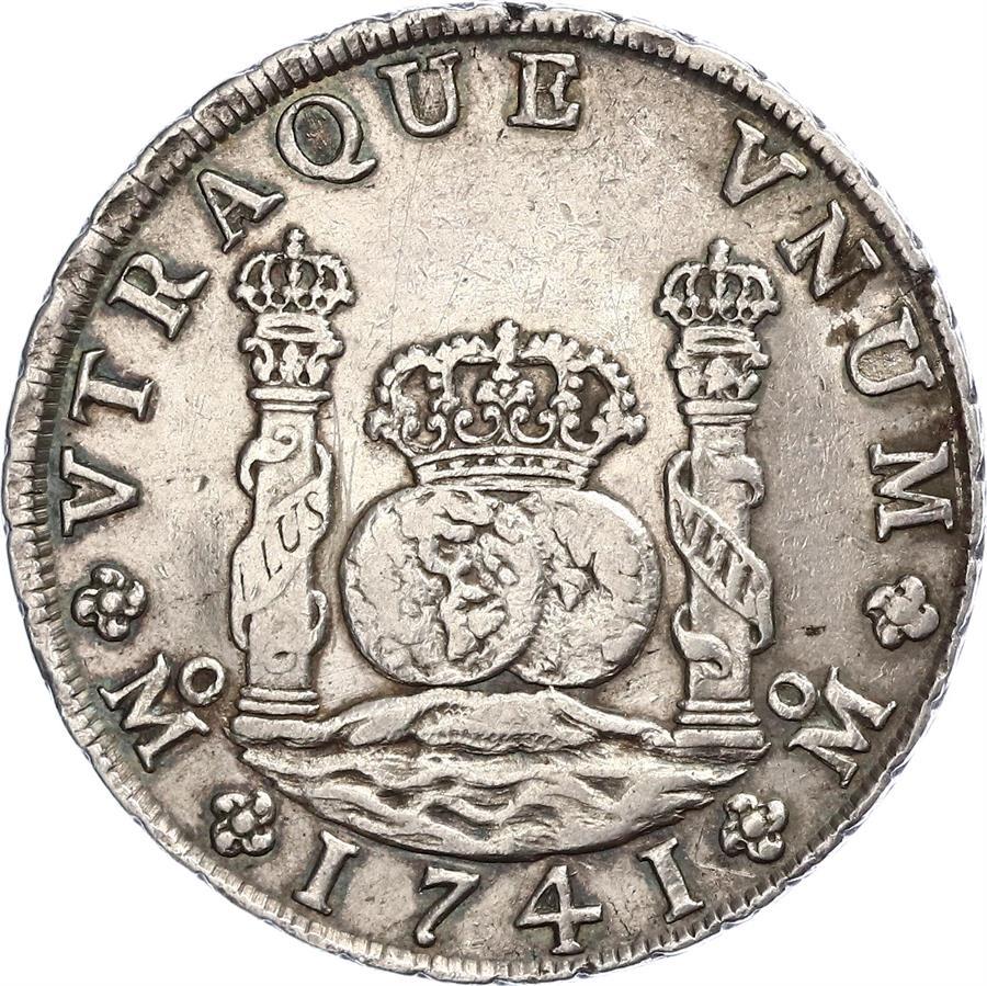 Mi segunda moneda. Otro 8 reales de 1741. 291vs_10
