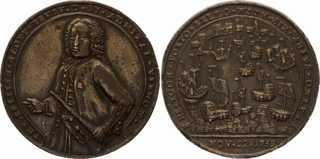 Mi primera moneda. Medalla de Vernon y 8 reales de 1741. - Página 2 60299010