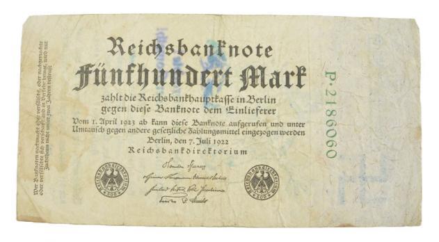 Eine Million Mark 1923 con una sobreimpresión de propaganda virulenta. - Página 3 6036810