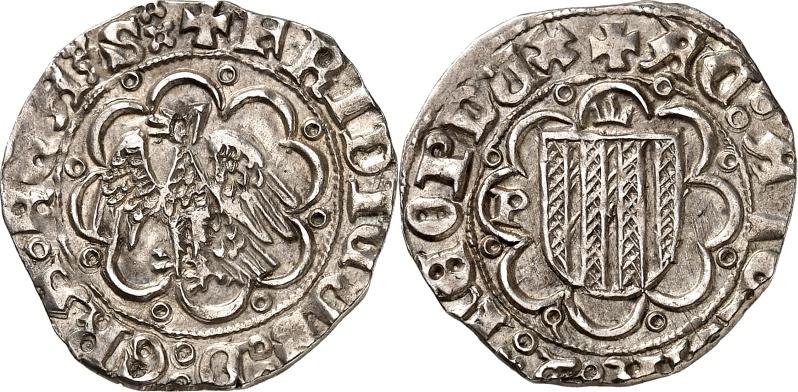 Rama siciliana de la Casa de Aragón. Pirral de Federico III (1355-1377)  Combin12