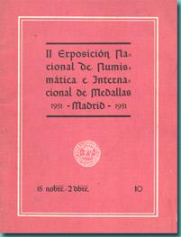 II Exposición Nacional de Numismática e Internacional Medallística Espana10