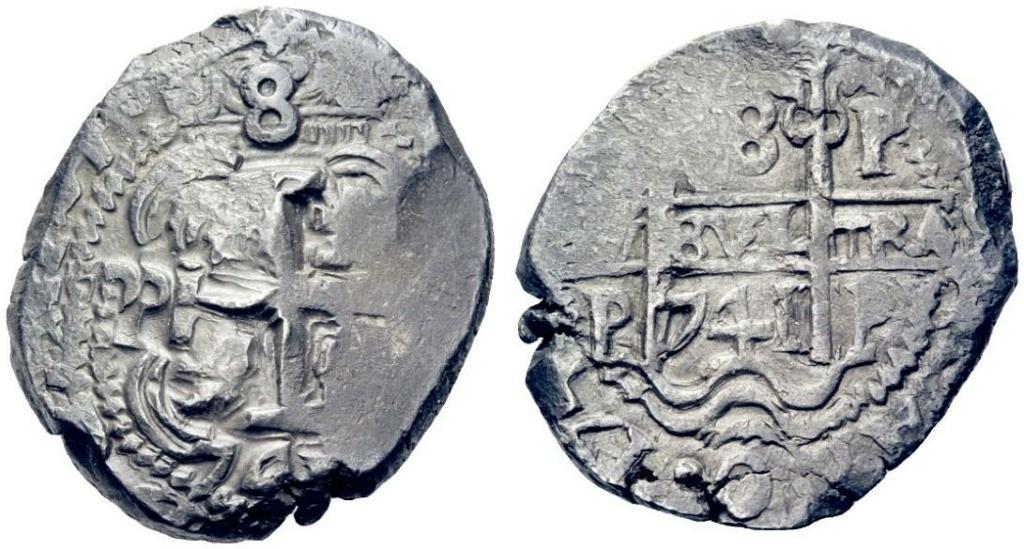Mi primera moneda. Medalla de Vernon y 8 reales de 1741. Image016