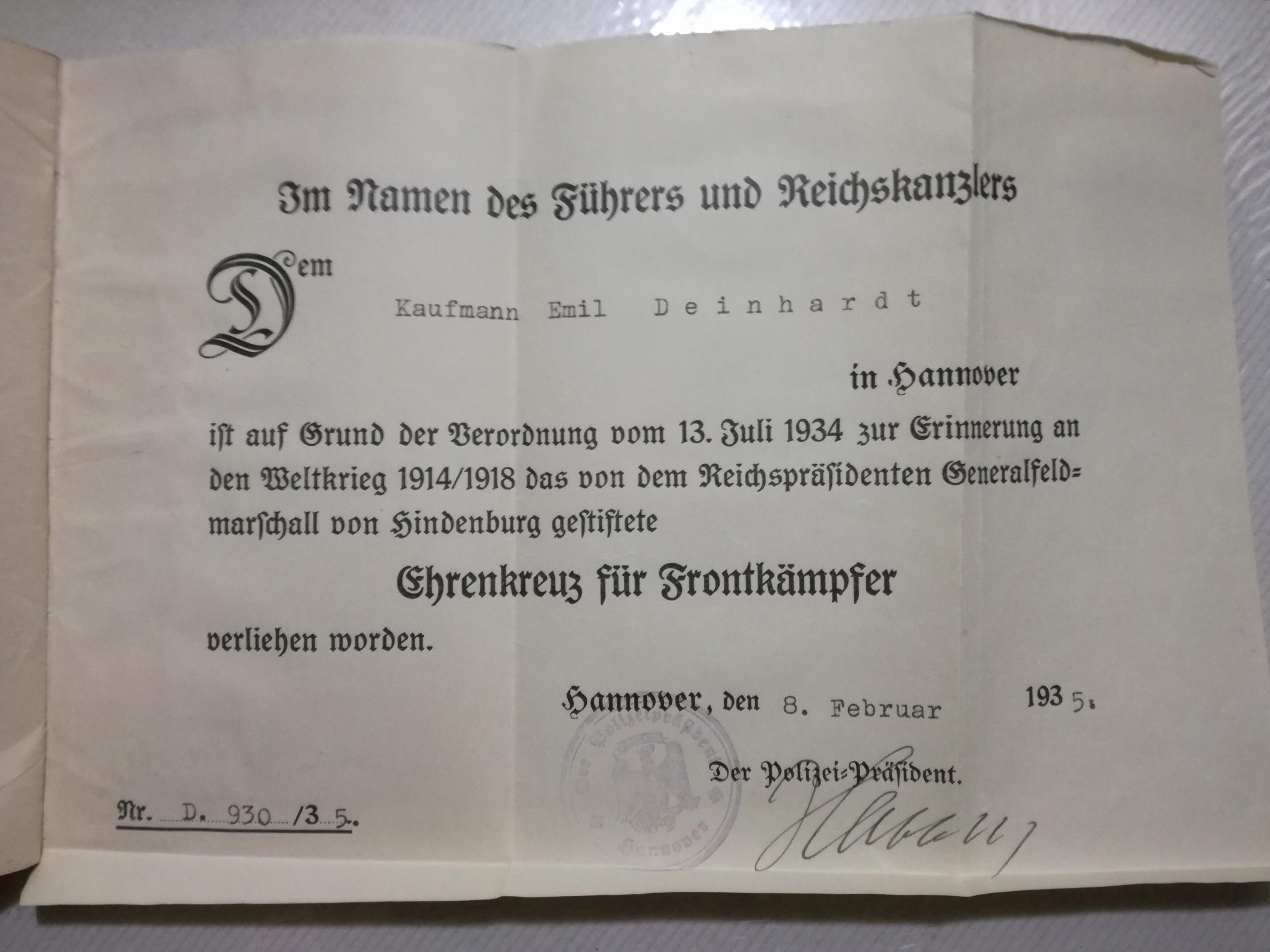 MEDALLAS ALEMANAS 1914-1945. Últimas adquisiciones. - Página 7 Img_2114