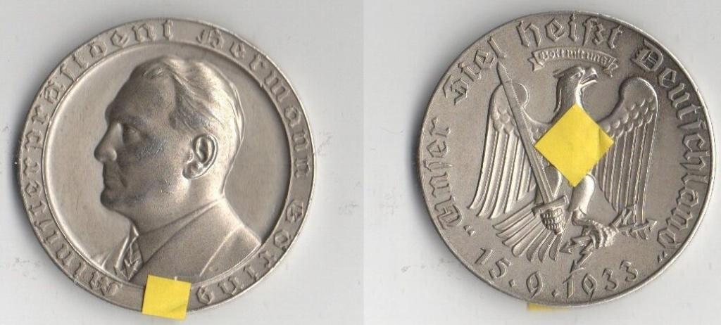 El retrato de Hitler no fue acuñado oficialmente en moneda. Img_2136