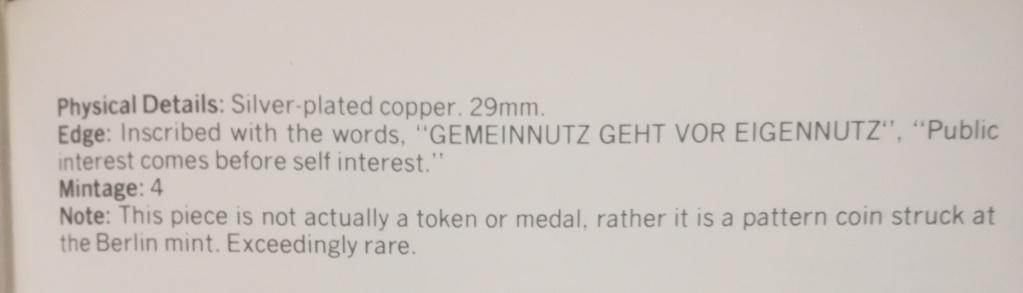 El retrato de Hitler no fue acuñado oficialmente en moneda. Img_2142
