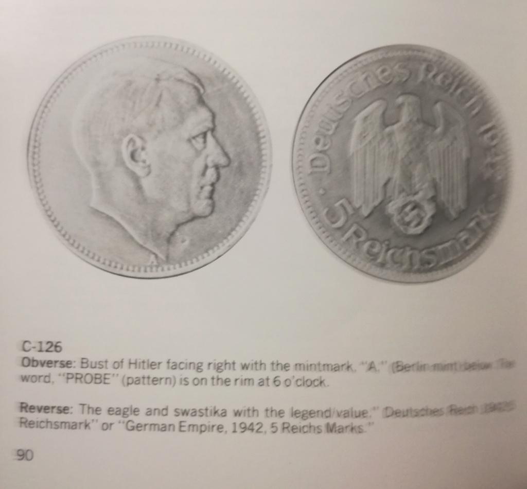 El retrato de Hitler no fue acuñado oficialmente en moneda. Img_2143