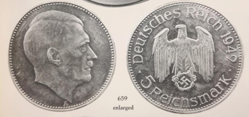 El retrato de Hitler no fue acuñado oficialmente en moneda. Img_2149