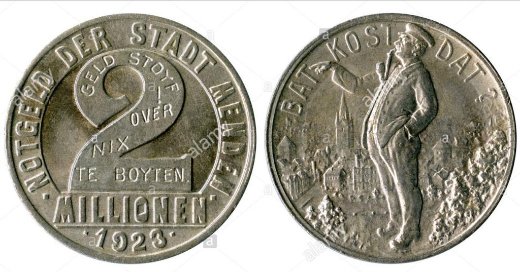 Alemania - Bielefeld - 1 Goldmark 1923 Img_2153