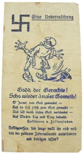 Eine Million Mark 1923 con una sobreimpresión de propaganda virulenta. - Página 3 Img_2180