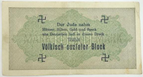 Eine Million Mark 1923 con una sobreimpresión de propaganda virulenta. - Página 3 Img_2184