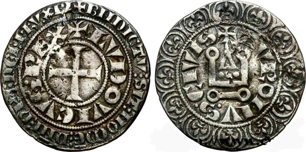 Gros tournois LOUIS IX (1214-1270). Francia.  Img_2255