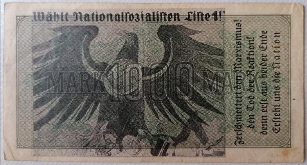 Eine Million Mark 1923 con una sobreimpresión de propaganda virulenta. - Página 4 Img_2259