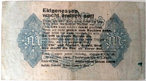 Eine Million Mark 1923 con una sobreimpresión de propaganda virulenta. - Página 4 Img_2261