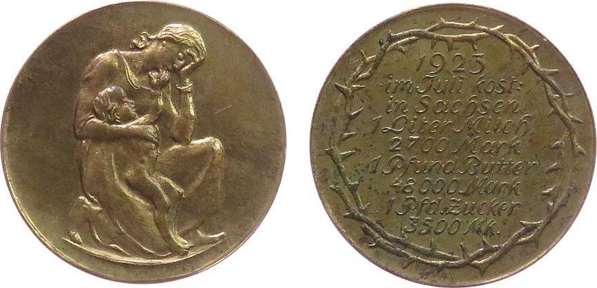 Eine Million Mark 1923 con una sobreimpresión de propaganda virulenta. - Página 2 Med23-11