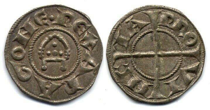 ¡Vaya susto! Dinero Alfonso II. Provenza.  S-l16016