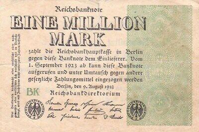 Eine Million Mark 1923 con una sobreimpresión de propaganda virulenta. - Página 2 S-l40011