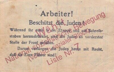 Eine Million Mark 1923 con una sobreimpresión de propaganda virulenta. - Página 2 S-l40012
