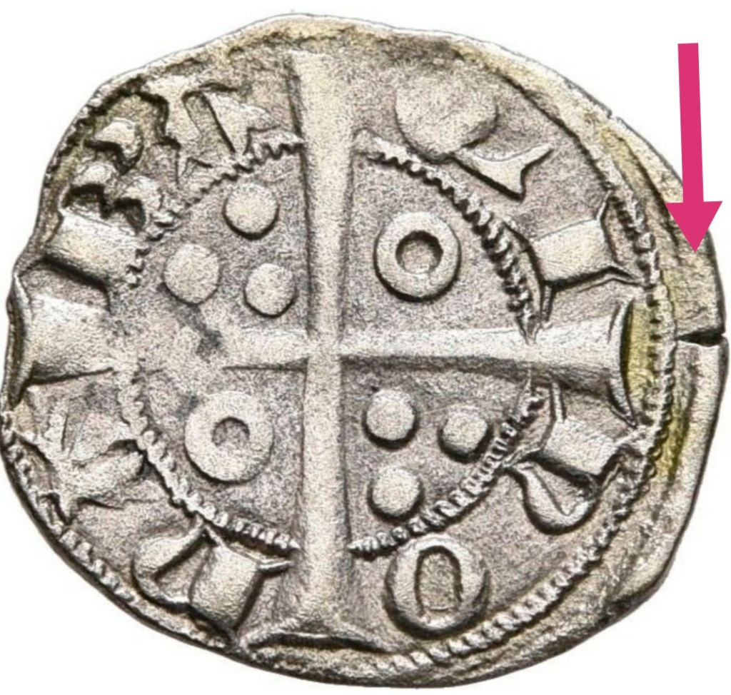 Dinero Jaime II. Barcelona.  Scree105