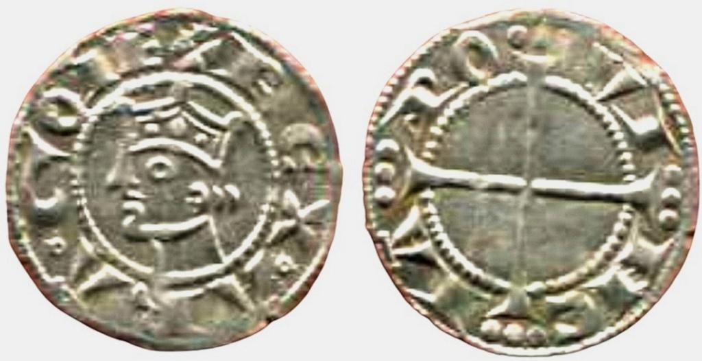 Otro dinero Alfonso II. Provenza.  Scree106