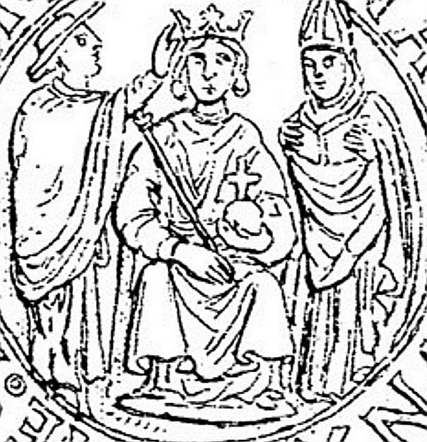 Rama napolitana de la Casa de Aragón. Coronato Alfonso II (1494-1495)  Scree129