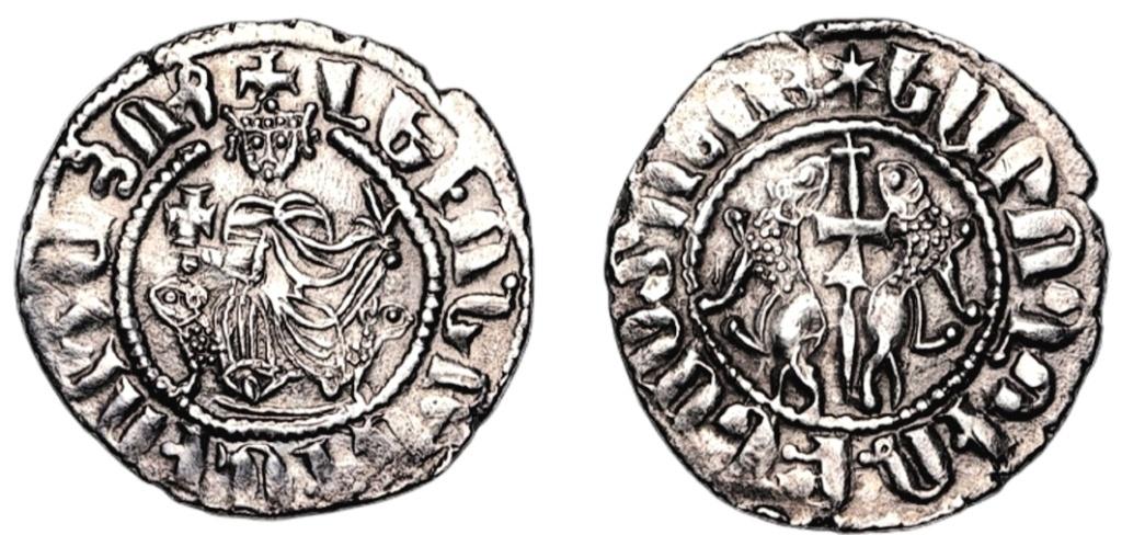 Tram. Reino armenio de Cicilia. León I (1187-1219). Scree151