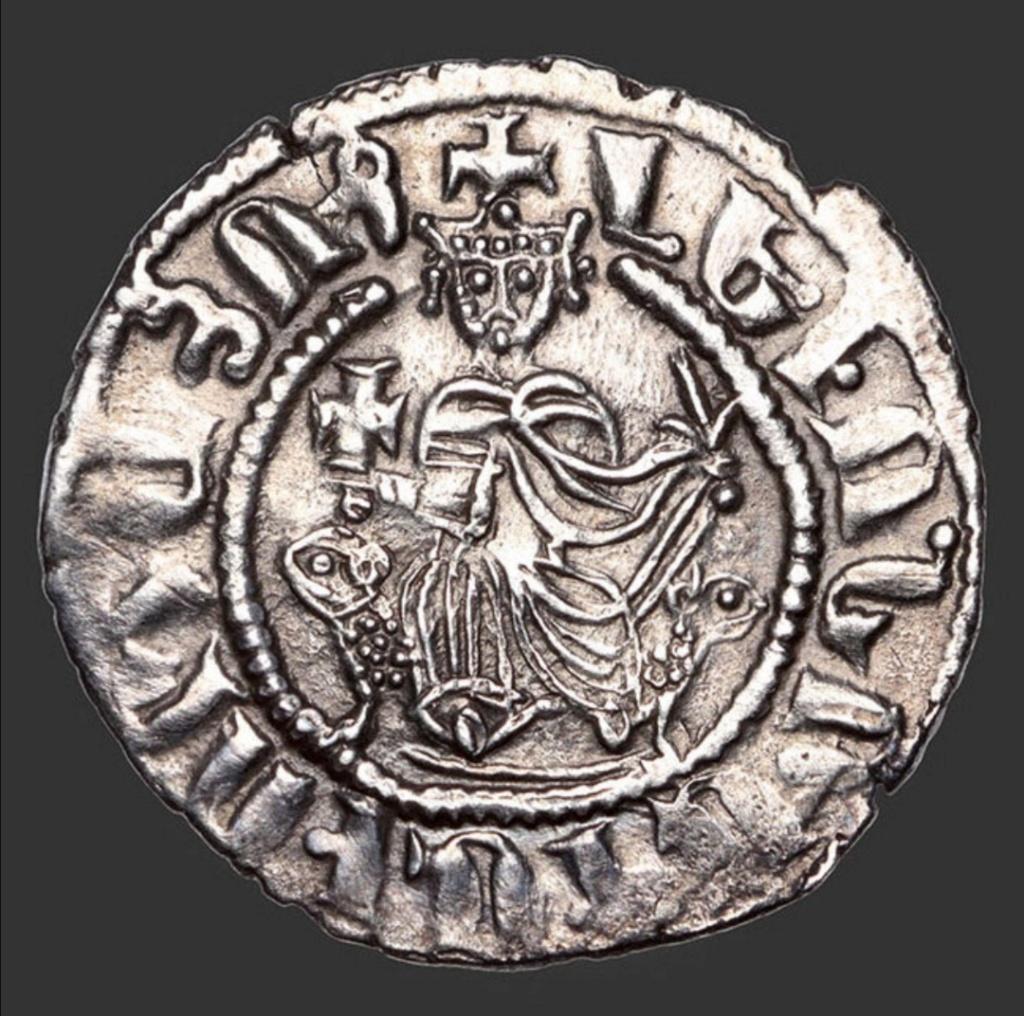 Tram. Reino armenio de Cicilia. León I (1187-1219). Scree152