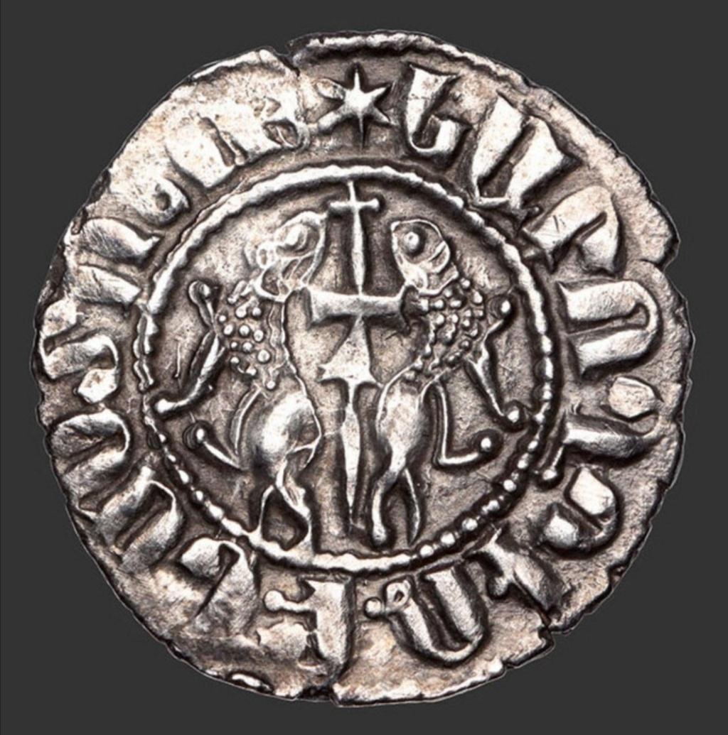 Tram. Reino armenio de Cicilia. León I (1187-1219). Scree153