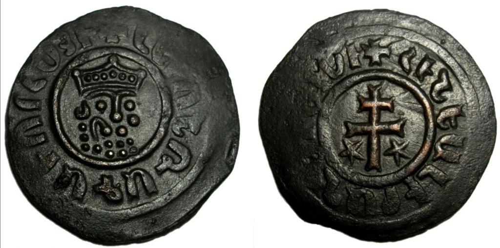 Tram. Reino armenio de Cicilia. León I (1187-1219). Scree154
