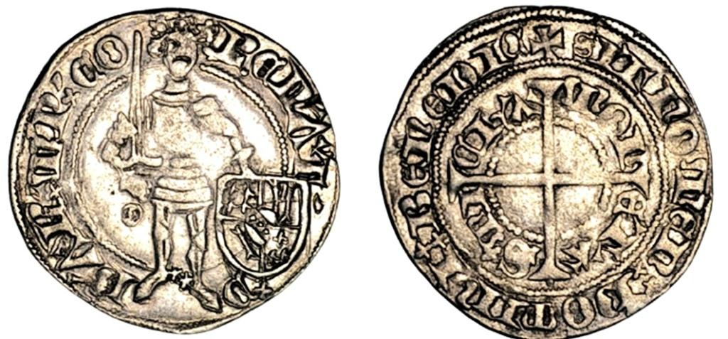 Gros Renato de Anjou. Ducado de Bar.  Scree178