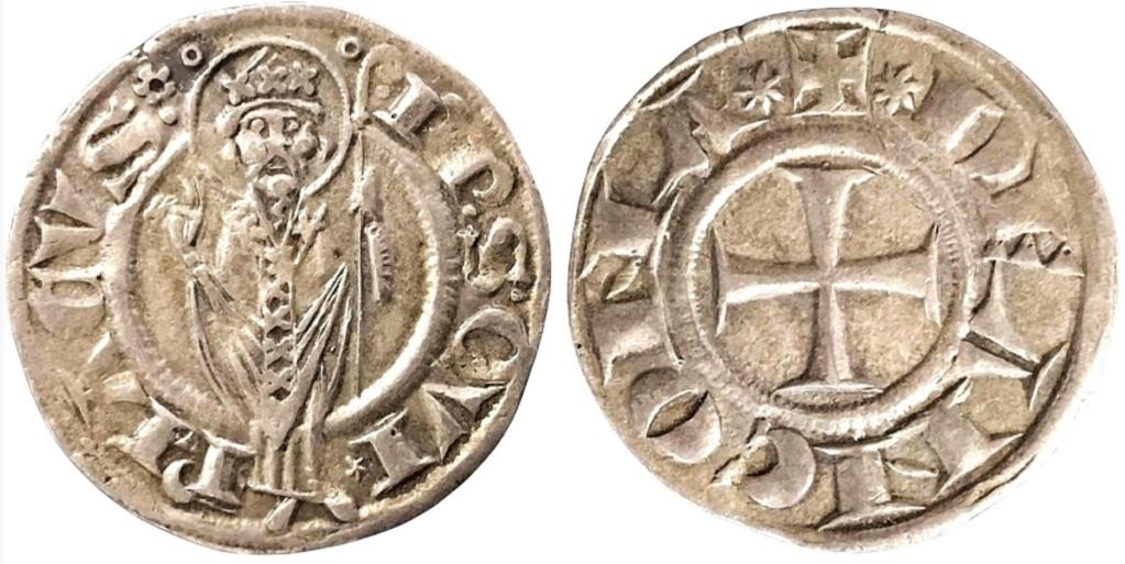 Grosso agontano. República de Ancona (1198-1532).  Scree179