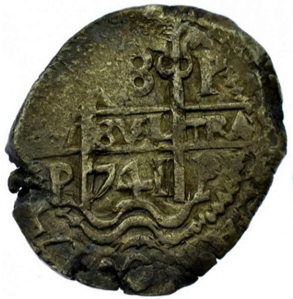 Mi primera moneda. Medalla de Vernon y 8 reales de 1741. Screen45