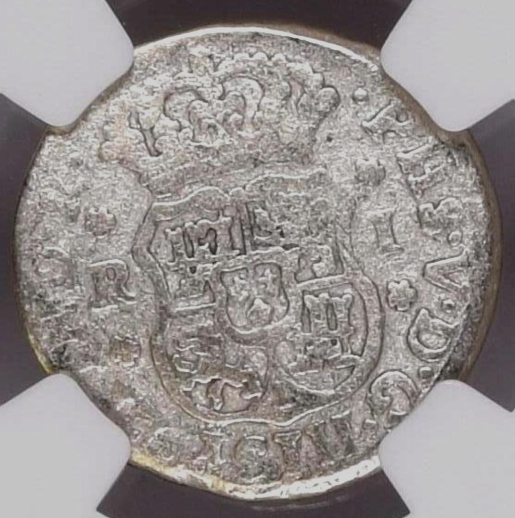 1 Real 1745 México. PECIO.  Screen64