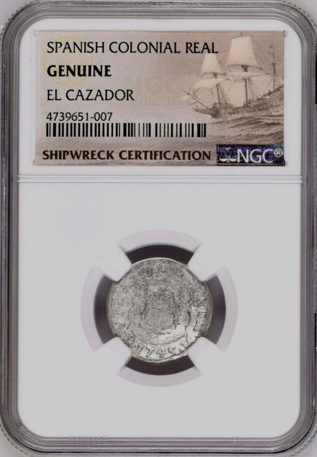1 Real 1745 México. PECIO.  Screen66
